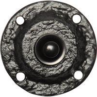 Kirkpatrick 751 Black Antique Style Circular Bell Push 60mm