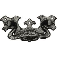 Kirkpatrick 834 Black Antique Style Drawer Pull Handle 127mm