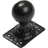 Black Antique Ironwork Interior Door Knobs 1069