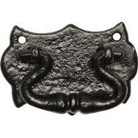 Black Antique Ironwork Drawer Handle 75x50mm 1541