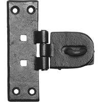 Black Smooth Iron Padlock Bar 4195