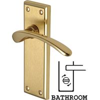 Heritage HIL8630 Hilton Mayfair Bathroom Lever Door Furniture
