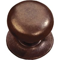 Traditionally Cast Bronze Bun Style Cabinet Knob