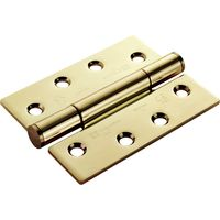 PVD Brass Stainless Steel GR14 4x3in Heavy Duty Hinge In Pairs