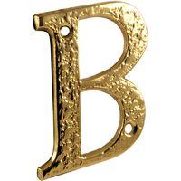 Antique Cast Brass Range Letters A-Z 76mm 1979 - Each