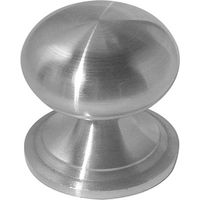 Stainless Steel Round Cupboard Knob