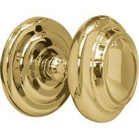Brass Sloane 102mm Exterior Front Door Knob