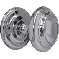 Bright Chrome Sloane 102mm Front Door Knob