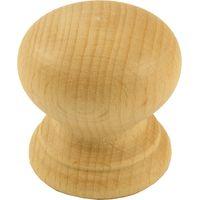 Beech Wooden Cabinet Knob