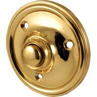 Round Brass Door Bell