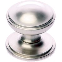 Satin Nickel Princess Front Door Knob 3in