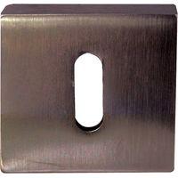 Dark Bronze Square Key Hole Cover 50mm