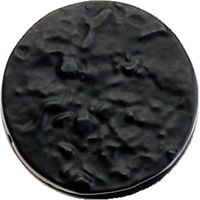 Fullbrook Round Covered Keyhole Cover 36mm