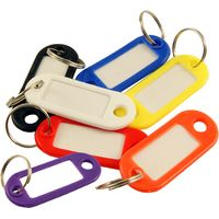 Coloured Plastic Key Labels