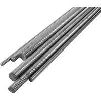 Zinc Plated Metric Stud Iron 330mm Lengths