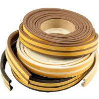 EPDM Rubber P Draught Excluder Strip 5 Metre