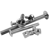 Pack of 10 Roofing Bolts & Nuts
