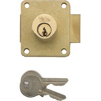 Yale Brass Straight Cabinet Lock