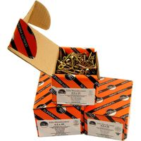Yellow CSK Chipboard Screws In Box