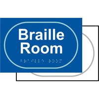 Touch Notice Braille Room