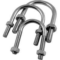 Metric U Bolts Mild Steel ZP