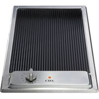 CDA HCC310SS 30cm Ceramic Griddle in Stainless Steel With 5Yr Parts Guarantee