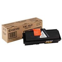Kyocera TK160 Printer Toner Cartridge, Black