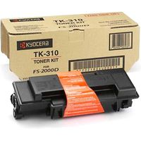 Kyocera TK310 Printer Toner Cartridge  Kit, Black