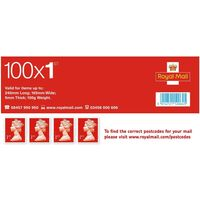 1st Class Postage Stamps Sheet of 100 *