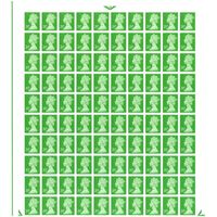 20p Postage Stamps Sheet of 100 *