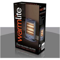 1200w Halogen Heater, Grey