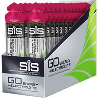 SiS GO Energy + Electrolyte Gel 60ml 30 Pack - Raspberry