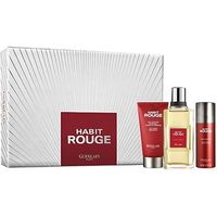Guerlain Habit Rouge Gift Set EDT 100ml