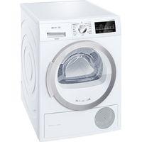 Siemens WT46W490GB 9kg Heat Pump Condenser Tumble Dryer in White A