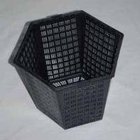 Hexagonal Aquatic Planting Basket 18 x 16cm / 3 litre - 1 x 18cm hexagonal aquatic pot