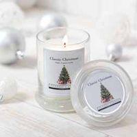 Classic Christmas Midi Jar Candle - Gift - 1 Classic Christmas midi jar candle