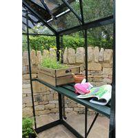 Eden Birdlip Greenhouse Staging - 4ft Greenhouse Staging (Green)