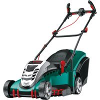Bosch ROTAK 43 LI ERGOFLEX 36v Cordless Rotary Lawnmower 430mm 1 x 4ah Li-ion Charger