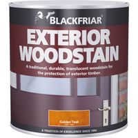 Blackfriar Traditional Exterior Woodstain Rich Mahogany 500ml