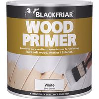 Blackfriar Wood Primer White 500ml