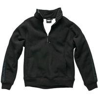 Dickies Mens Eisenhower Fleece Pullover Black XL
