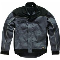 Dickies Mens Industry 260 Jacket Grey/ Black XL