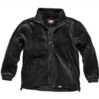 Dickies Mens Seville Fleece Jacket Black 3XL