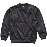Dickies Mens Crew Neck Sweatshirt Black XL