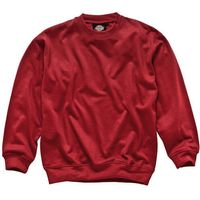Dickies Mens Crew Neck Sweatshirt Red XL