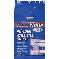 Everbuild Forever White Powder Wall Tile Grout 3kg