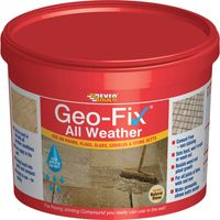Everbuild Geo-Fix All Weather Jointing Compound for Patio Stones Grey 14kg