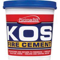 Everbuild KOS Fire Cement Black 500g