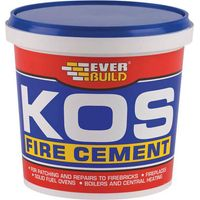 Everbuild KOS Fire Cement Buff 1kg