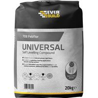 Everbuild 708 Self Level Floor Cement Compound 20kg
